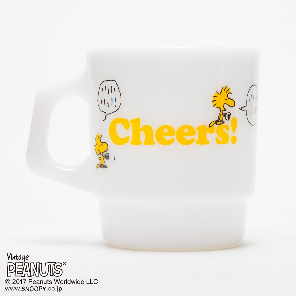 Fire-King スタッキングマグ Peanuts [Cheers!]